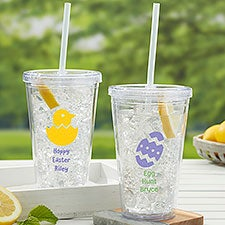 Choose Your Icon Personalized Easter Insulated Tumbler for Kids - 31768
