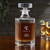 Personalized Logo Royal Decanter - 31823