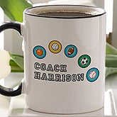 Personalized All Star Coach Coffee Mug - 3187