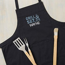 Grill Sergeant Custom Embroidered Aprons - 31875