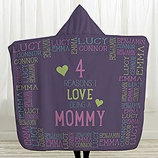 Reasons Why For Her Personalized Hooded Sherpa Blanket - 31911
