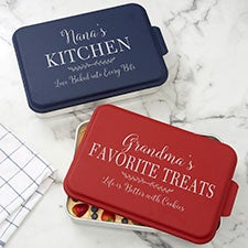 Recipe For a Special Grandma Personalized Cake Pan with Lid - 32059