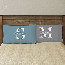 Lavish Last Name Personalized Pillowcase - 32106