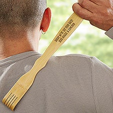 We've Got Your Back Dad! Personalized Bamboo Back Scratcher - 32211