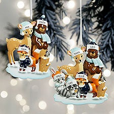 Woodland Family Personalized Ornaments - 32294