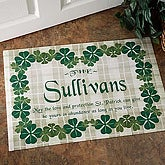 Irish Welcome Personalized Doormat