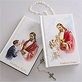 Personalized Childrens Catholic Mass Book - 3362