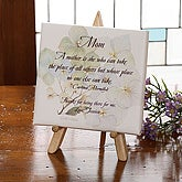 My Mother Personalized Watercolor Canvas Art - 3392