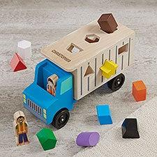 Melissa & Doug® Personalized Dump Truck - 34036