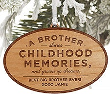 Special Brother Personalized Ornament - 34149