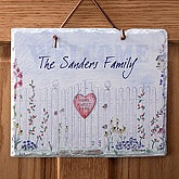 Personalized Slate Plaques - Home Sweet Home Collection - 3505