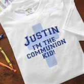 I'm The Communion Kid Personalized Hooded Sweatshirts