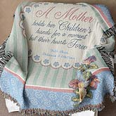 A Mother Is Forever © Personalized Afghan