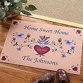 Home Sweet Home Personalized Door Mat - 3675