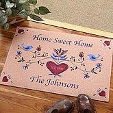 Home Sweet Home Personalized Door Mat - 3675