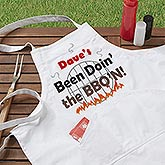 Personalized Grilling Apron and Potholder - Been BBQ'n - 3769
