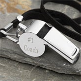 Coach Personalized Whistle
