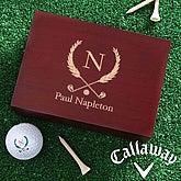 Monogram Golf Ball Set & Keepsake Box©