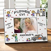 Flower Girl Character© Personalized Frame