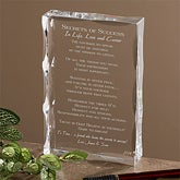Personalized Graduation Sculpture - Secrets of Success Keepsake - 3836