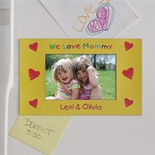 Personalized Magnet Photo Frame - In Our Hearts Design - 3842