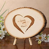 Personalized Keepsake Tree Plaque Gifts - Together Forever Design - 3862