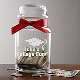 College Fund© Personalized Money Jar