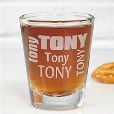 Personalized Shot Glass - First Name - 3916