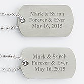 Just for You Dog Tag Set