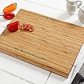 Personalized Bamboo Cutting Boards - Bless This Home Design - 4029