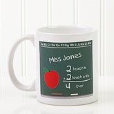 Chalkboard Teacher© Coffee Mug