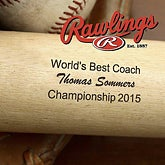 Best Coach© Personalized Baseball Bat