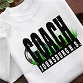 Personalized Soccer Coach Shirts and Accessories - 4223