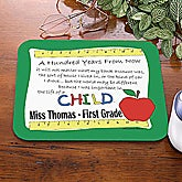 Personalized Teacher Mouse Pad - A Hundred Years From Now - 4239