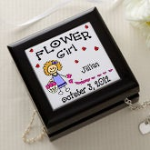 Flower Girl Character© Keepsake Box
