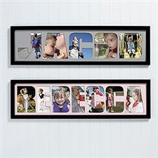 Personalized Photo Name Collage Frame - 4250
