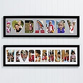 Personalized Name Photo Collage Frame - Loving Them - 4251