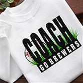 Personalized Baseball Coach Coffee Mug