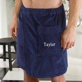 Personalized Men's Towel Wrap - 4267