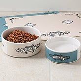 Personalized Ceramic Pet Bowls - 4292
