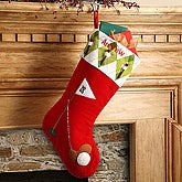 Personalized Sports Christmas Stockings   Amazing Christmas Ideas