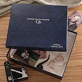 Personalized Memorial Keepsake Memory Box - 4437D