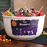 Personalized Halloween Character Collection Candy Bowl - 4447