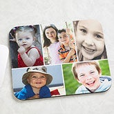 Christmas Gifts for Dad: Personalized Photo Montage Vertical Mouse Pad