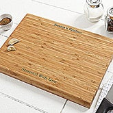 Personalized Bamboo Cutting Boards - You Name It