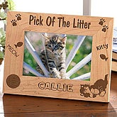 A Purr-fect Pose Cat Photo Frame