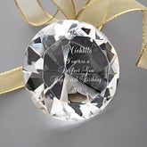 Personalized Crystal Diamond Keepsake - You're a Perfect Gem  - 4573