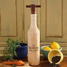 Personalized Chef's Collection Wood Pepper Mill - 4601