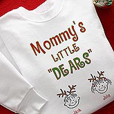 Personalized Little Dears Holiday Shirts and Accessories - 4618