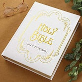 Custom Personalized Family Heirloom Bible  - 4635